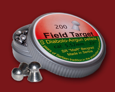 0.22 caliber air gun pellets Field Target